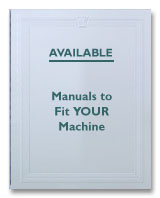 White 1166 Instruction Manual