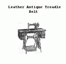 New Leather Belt :   For Any Antique treadle machine ONLY! 72 inches