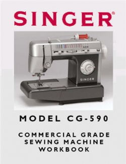 Singer CG590 Workbook (50 Pages)