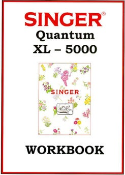 Singer QUANTUM® XL-5000 Workbook (49 pages)