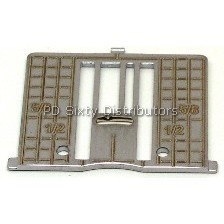 Needle Plate # 4125330-03 (Inch Line Guage)
