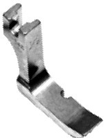 Right Piping Foot # 12435R (3/16 inch) Click for model info.