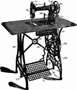 White FR Treadle Sewing Machine Instruction Manual