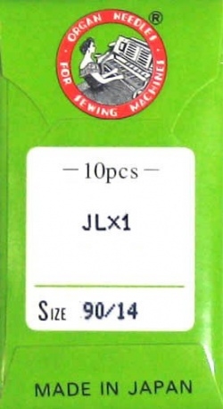 10 Pack of Serger Needles JLx1, 2053, 16x71; Size 14