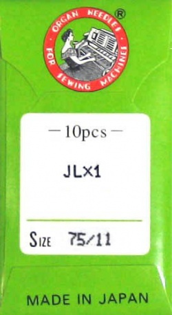 10 Pack of Serger Needles JLx1, 2053, 16x71; Size 11