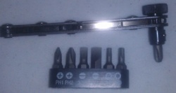 Just for your Needle Plate 8 PC Right Angel Screwdriver , Racheting Driver